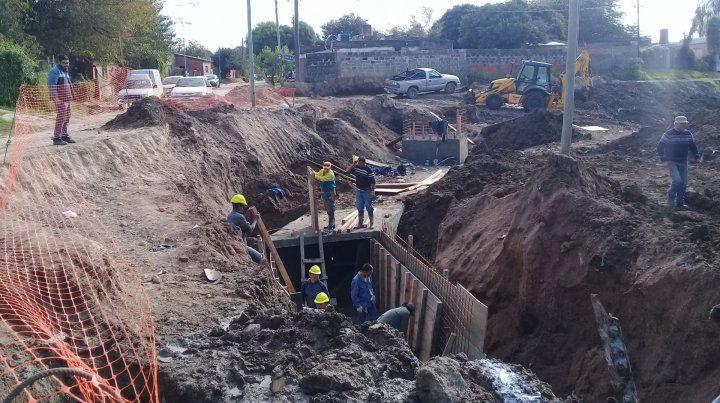 Promeba III: barrios de la zona oeste cierran el año con nuevas obras de infraestructura básica