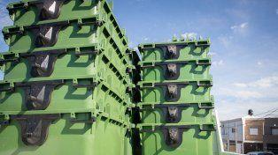Se destinarán nuevos contenedores de residuos para los barrios paranaenses