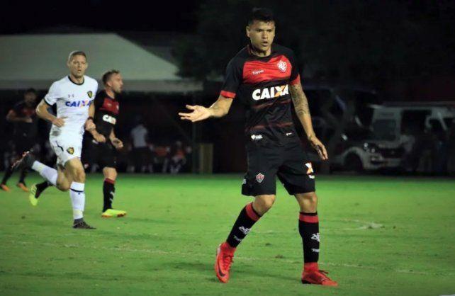 El entrerriano viene de jugar en Brasil.