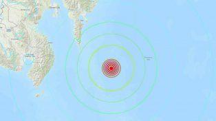 Un sismo de magnitud 7,2 se sintió en Indonesia y Filipinas