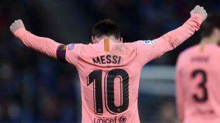 Messi el máximo goleador del 2018