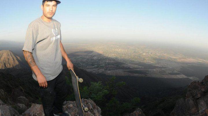 Carlos Corto Paz en la cima.