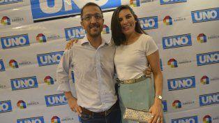 Walter y Cristina. Protagonistas de un acto de amor que conmovió a la opinión pública entrerriana.