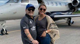 Maradona y Oliva despejaron rumores de separación