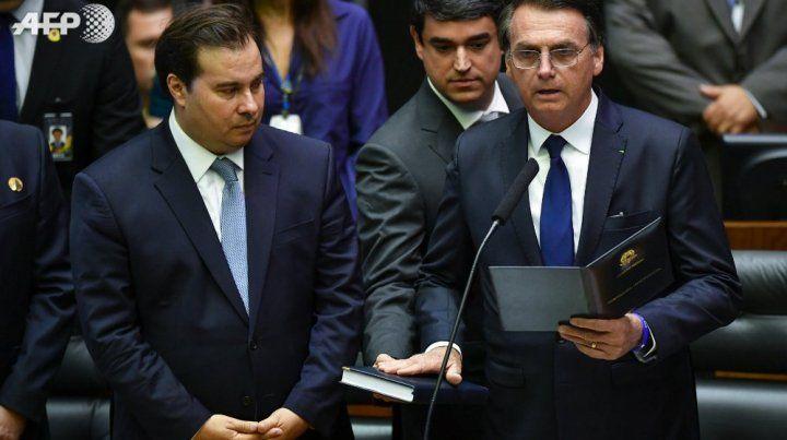La jura del nuevo presidente brasileño.