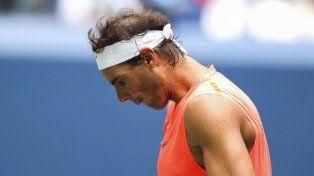 Rafa Nadal se bajó de Brisbane por lesión