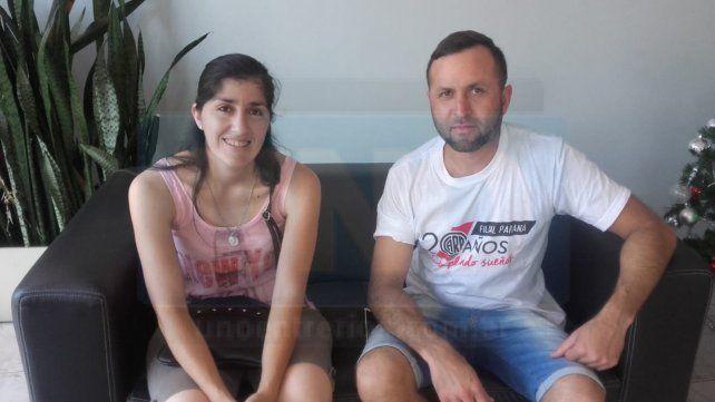 El compromiso de ayudar. La filiar de River encabezó la iniciativa en Paraná.