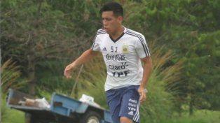 Ezequiel Barco se baja del Sub 20 por lesión