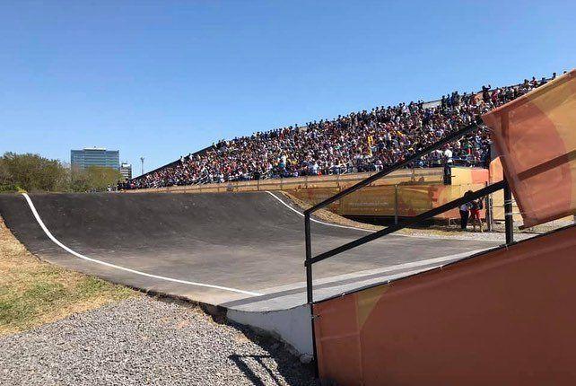 La pista de Vicente López fue inaugurada para los Juegos Olímpicos de la Juventud.
