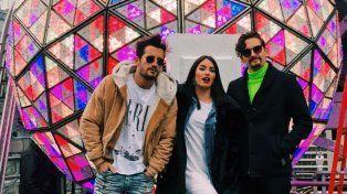 Lali Espósito despidió el año con un show en pleno Times Square