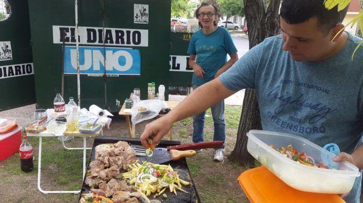 Peña urbana gastronómica para recrear el espíritu del vecindario
