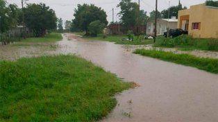 Inundados. En Basavilbaso