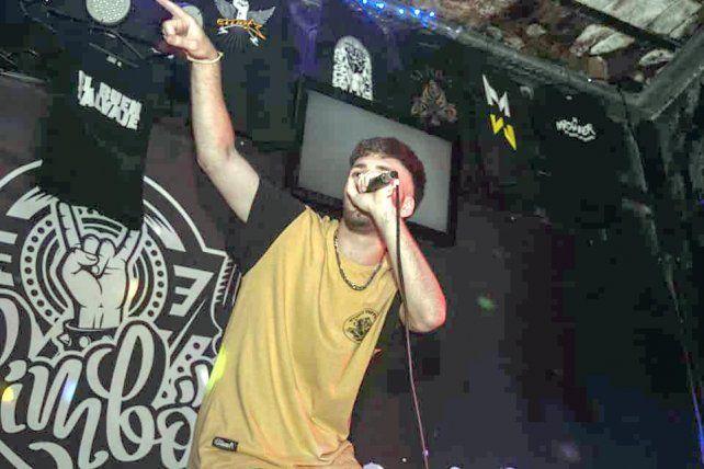 Comienzos. Nacho empezó a hacer freestyle como un hobby a los 13 y hoy se dedica por completo al rap.
