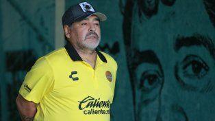 Maradona internado de urgencia