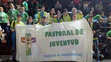 Palpitando la jmj. Con la llegada de Francisco, siempre hay presencia entrerriana.