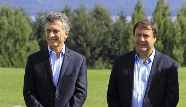 Mandatarios. Macri y Weretilneck
