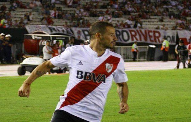 El uruguayo muy querido por lo hinchas.