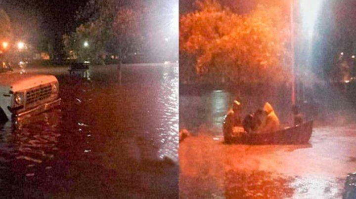 Planifican obras para evitar mayores inundaciones en Irazusta