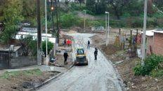 pavimentacion, desagües pluviales y nueva red de agua potable en barrio las flores