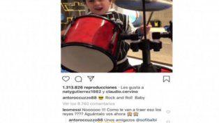 Un tierno video de Mateo Messi generó una inesperada respuesta de Leo