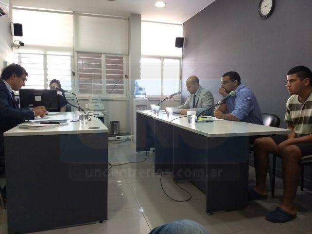 Grave hecho. El juez Ruhl le alertó a Romero que había una acusación muy delicada. Foto: Javier Aragón