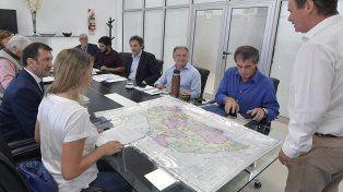 Se trabaja en varios sectores para asistir a los afectados por las lluvias