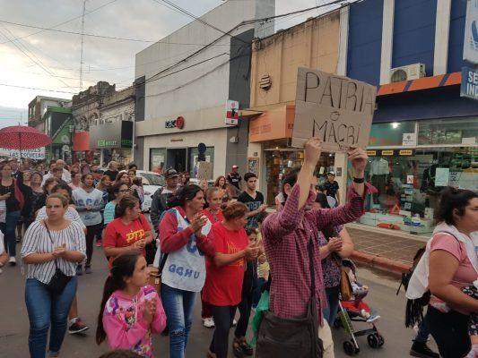 En Gualeguaychú calificaron la convocatoria como muy buena.