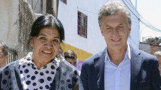 Margarita Barrientos dijo que aumentó la cantidad de gente que asiste al comedor por la falta de trabajo y la necesidad