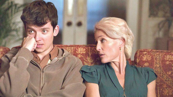 Madre e hijo. Gilllian Anderson (Los expedientes secretos X) regresa a la pantalla con esta comedia dramática.