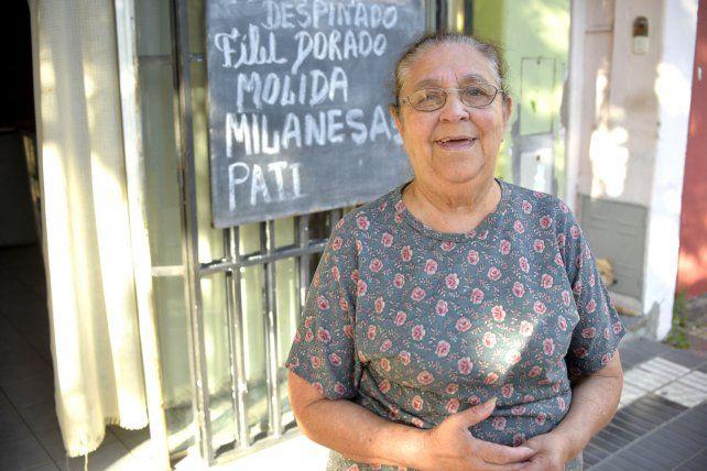 Irma es del barrio de Patronato al que ama desde 1969.