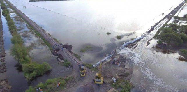 Las inundaciones castigaron el norte de Santa Fe y buena parte del Litoral.