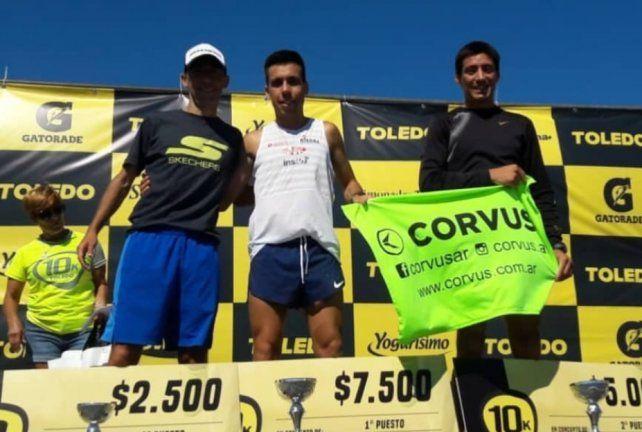 El paranaense Julián Molina ganó en Mar del Plata