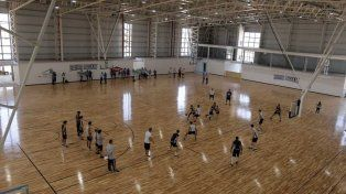 Imponente. La nueva infraestructura deportiva de 7.500 m2