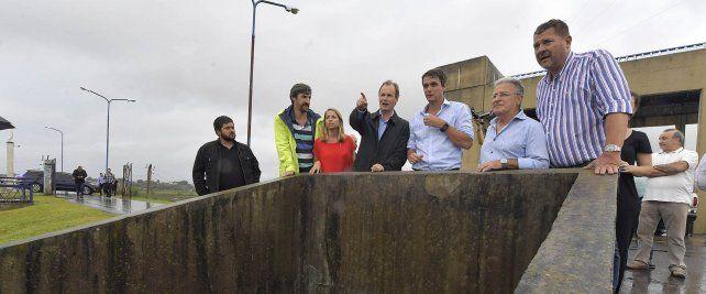 Por las inundaciones en Concordia, el gobernador recorrió las zonas afectadas