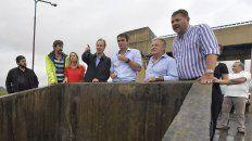 por las inundaciones en concordia, el gobernador recorrio las zonas afectadas