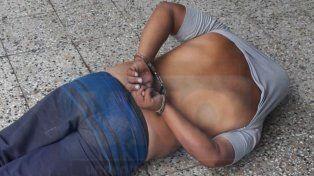 Un rato preso. El acusado fue detenido y llevado hasta la comisaría sexta