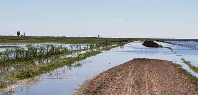 Las lluvias siguieron complicando a las zonas inundadas