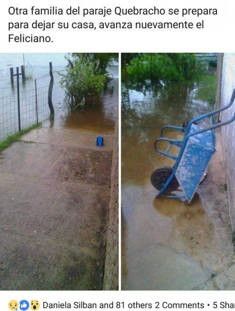 Santa Elena. La zona del arroyo Quebracho. Foto Nicolas Ríos.