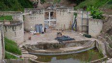 avanza a buen ritmo la puesta en valor del anfiteatro hector santangelo