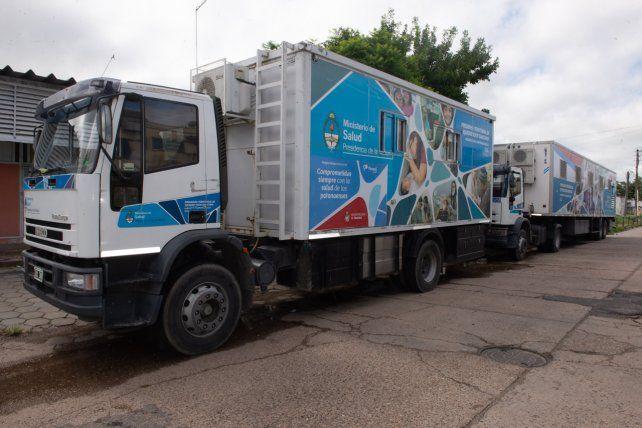 Unidades Sanitarias Móviles recorren los barrios paranaenses