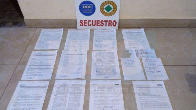 Detuvieron en Paraná al gestor automotor trucho más buscado de la Argentina