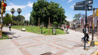 Se inició la renovación de la Peatonal y plazas céntricas