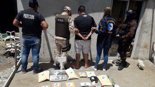 Por narcomenudeo hubo operativos conjuntos de la Policía y Prefectura