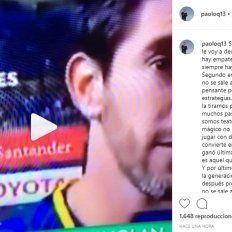 Polémico. Quinteros, integrante de la Generación Dorada, múltiplecampeón utilizó su cuenta de instagram para expresar su malestar por las declaraciones del exjugador de Boca.