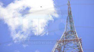 Aseguran que con los nuevos desbarrancamientos la antena quedó