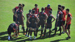 Recta final. Sciacqua comenzará a delinear el equipo que el domingo enfrentará a River.