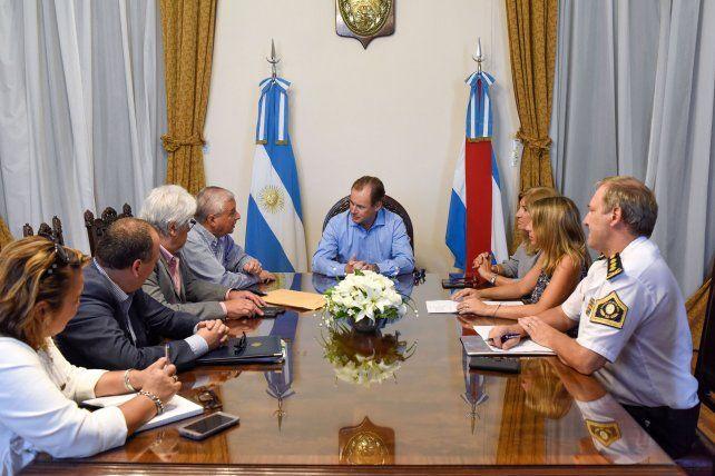El intendente uruguayense