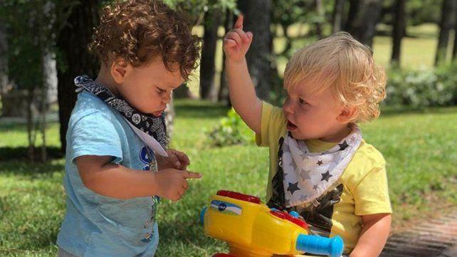 El tierno video Mirko y Felipe, los hijos de Marley y Florencia Peña
