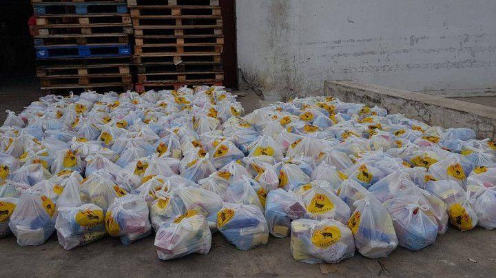 Invirtió 100 mil pesos en donaciones.