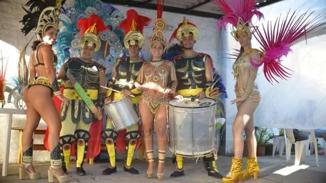 Cuenta regresiva. Salgueiro Monumental ensaya para que el público de Paraná pueda tener un muy buen espectáculo.